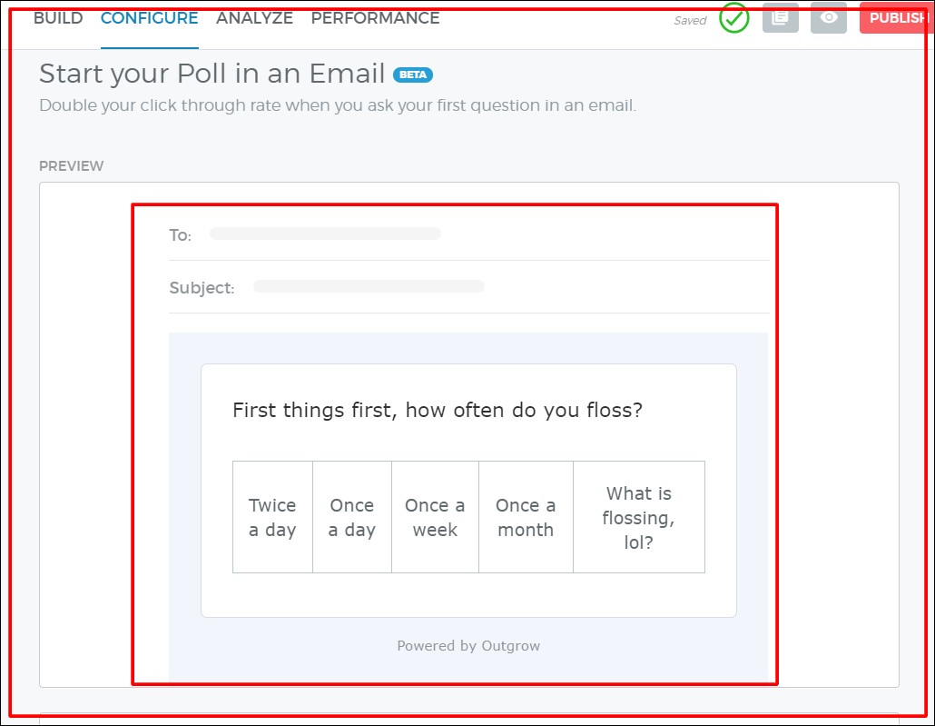 email embed outgrow