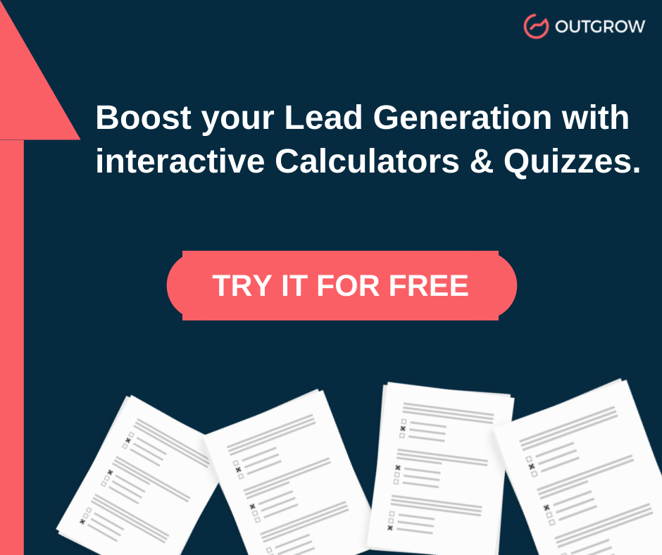 interactive content creation tool Outgrow