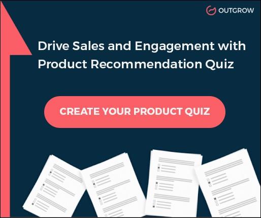 product recommendation quiz