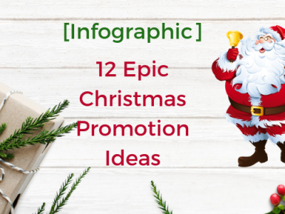 [Infographic] 12 Epic Christmas Promotion Ideas