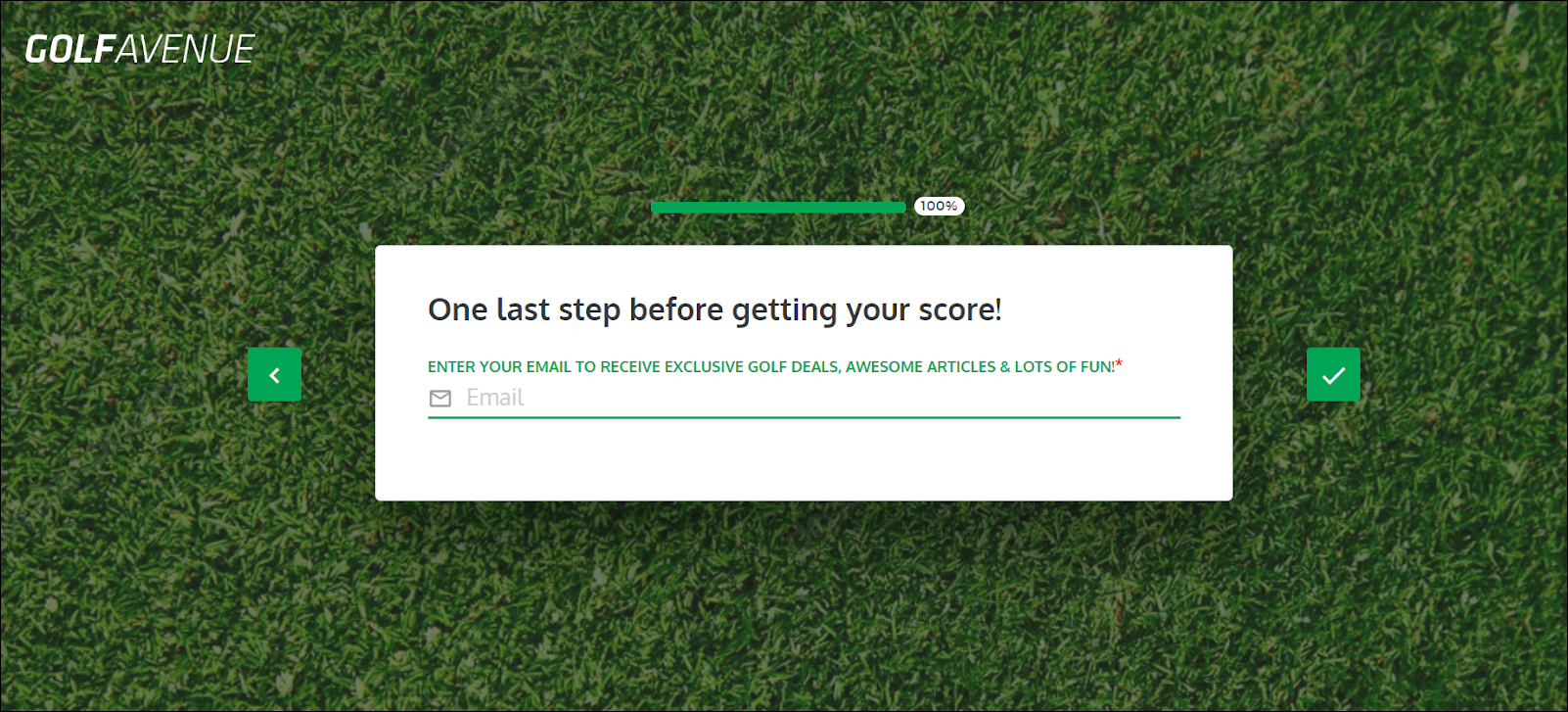 Outgrow Interactive Content Case Study: How Golf Avenue Gained 80000+ Leads And More
