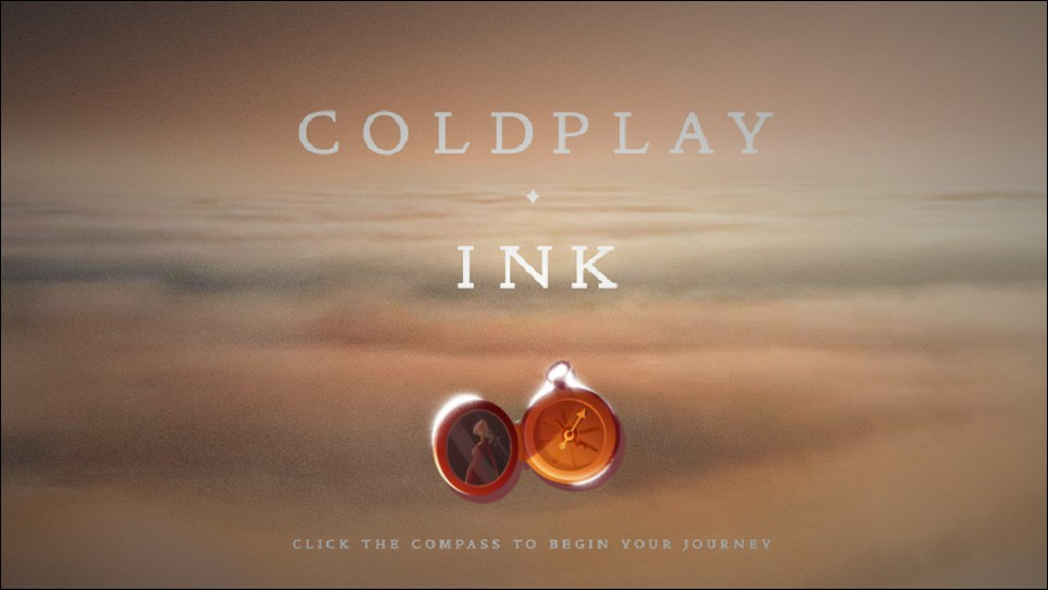 interactive video: cold play ink