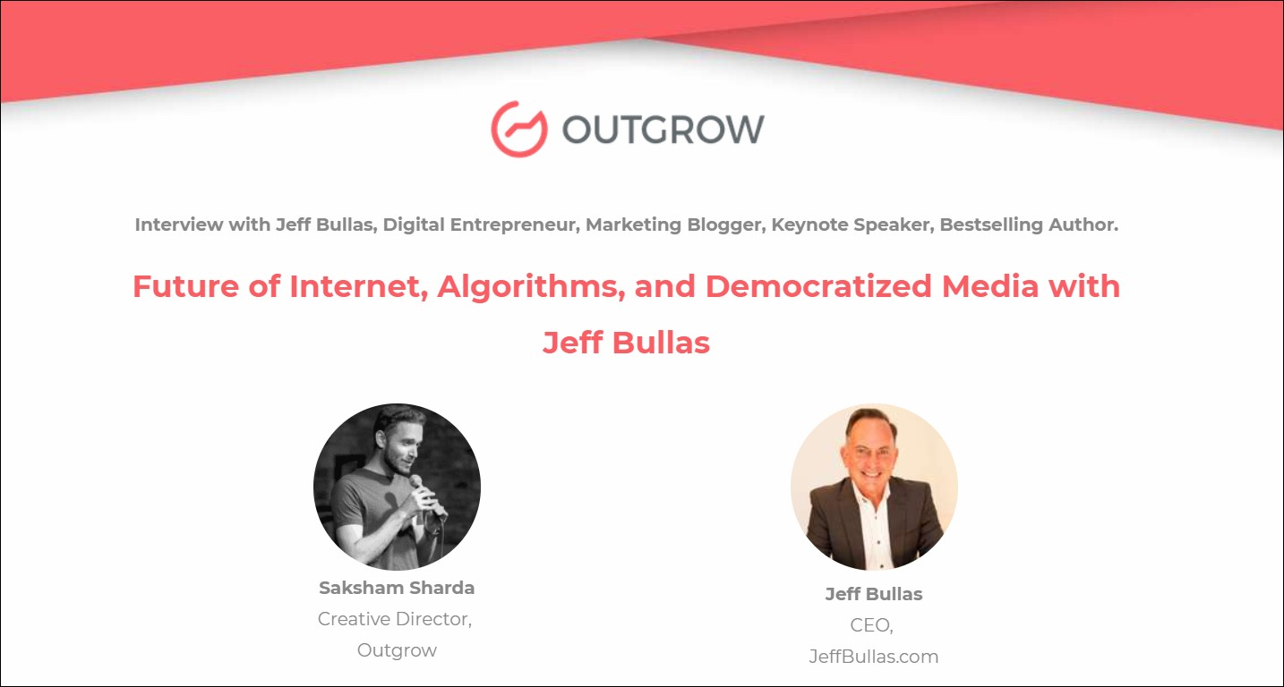 Marketer of the Month - Jeff Bullas